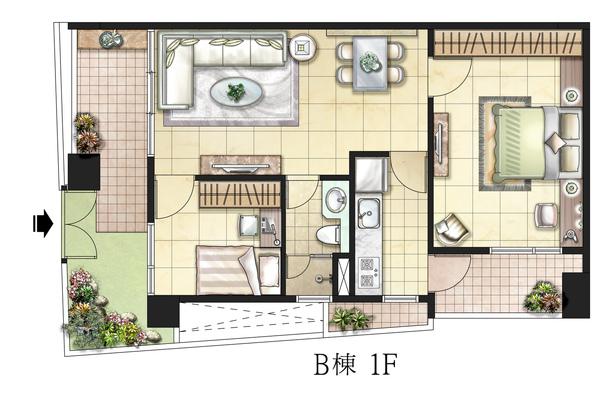 房地產個案評鑑-101.7-信義房屋-平面圖分析