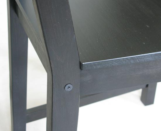 IKEA餐椅(STEFAN系列)瑕疵2