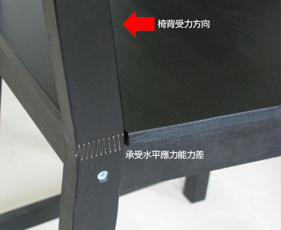 IKEA餐椅(STEFAN系列)瑕疵4.jpg