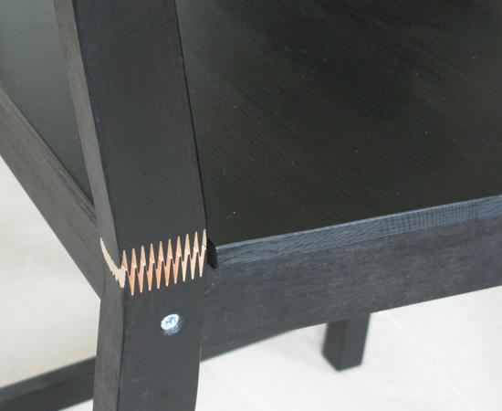 IKEA餐椅(STEFAN系列)瑕疵5