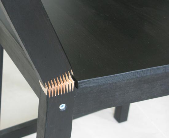 IKEA餐椅(STEFAN系列)瑕疵6