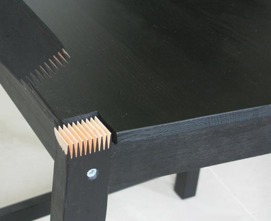 IKEA餐椅(STEFAN系列)瑕疵7