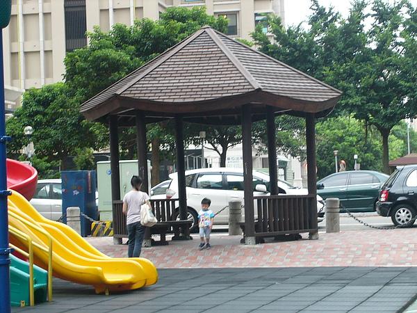 公園的涼亭