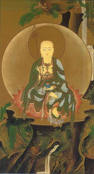 地藏菩薩-工筆畫