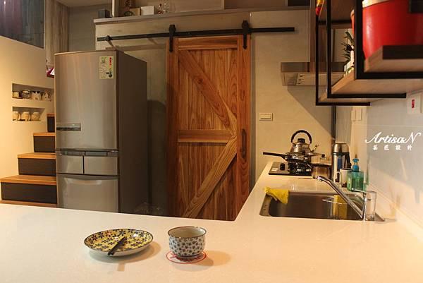 餐廳廚房區