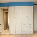 衣櫃+衛浴隱藏門
