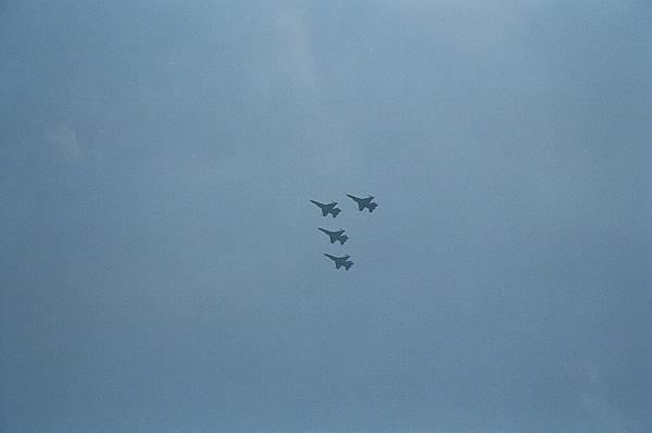 F16空中分列式