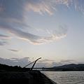 大直橋 夕陽
