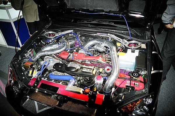 Subaru Impreza+HKS渦輪