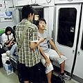往大阪途中