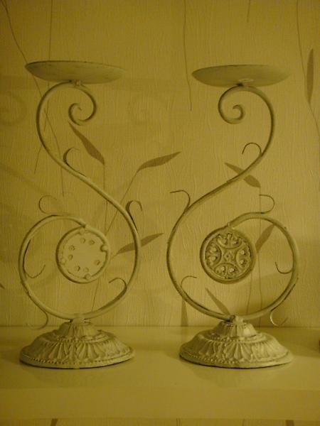 古典花式燭台-D112