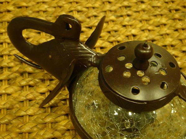 象頭壺型燭座-D104-1