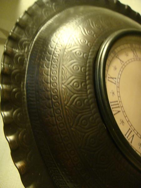 氣質取勝的典雅型座鐘-B104-1