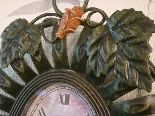 蔓藤花型掛鐘-B103-1