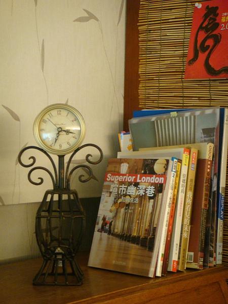 經典簡約式座鐘-B101