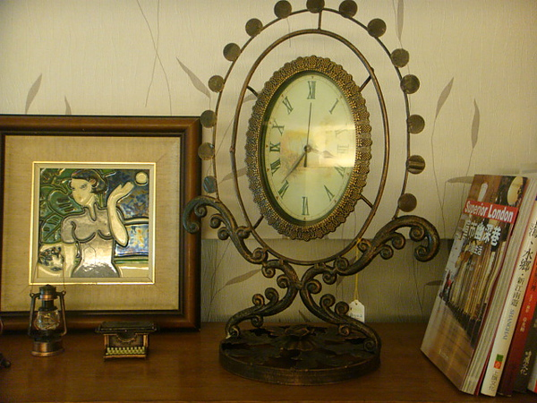 古典華麗式座鐘-B102