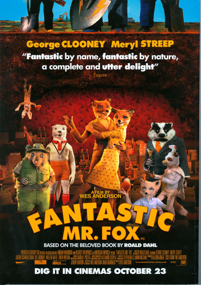 超級狐狸先生/The Fantastic Mr. Fox/魏斯安德森Wes Anderson