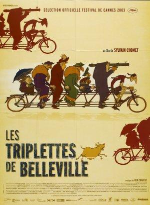 佳麗村三姊妹Les triplettes de Belleville/Sylvain Chomet