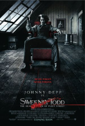 瘋狂理髮師(Sweeney Todd: The Demon Barber of Fleet Street,2007),提姆波頓Tim Burton