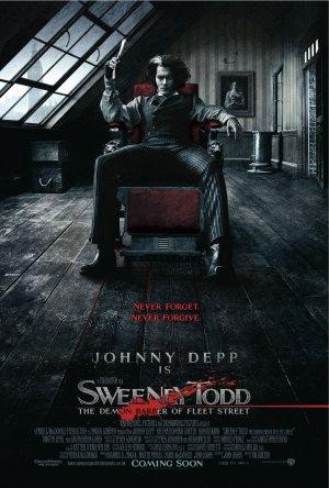 瘋狂理髮師(Sweeney Todd: The Demon Barber of Fleet Street,2007),提姆波頓Tim Burton