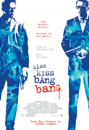 吻兩下打兩槍Kiss Kiss, Bang Bang/Shane Black
