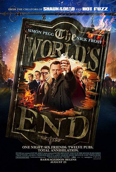 醉後末日The World's End/埃德加懷特Edgar Wright