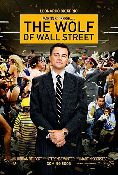 華爾街之狼The Wolf of Wall Street/馬丁史柯西斯Martin Scorsese