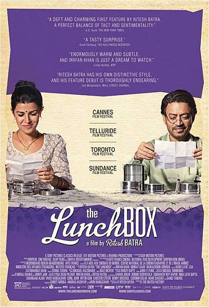 美味情書The Lunchbox/Ritesh Batra