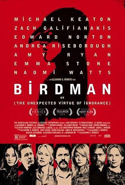 鳥人Birdman/阿利安卓崗札雷伊納利圖Alejandro González Iñárritu