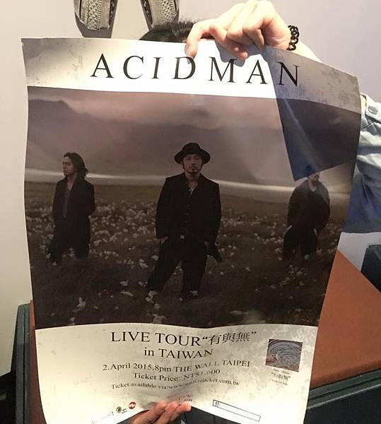 "ACIDMAN LIVE TOUR ""有と無"" IN TAIWAN@THE WALL"