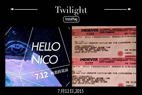 Hello Nico《熟悉的荒涼》專輯發表音樂會最終場@Legacy