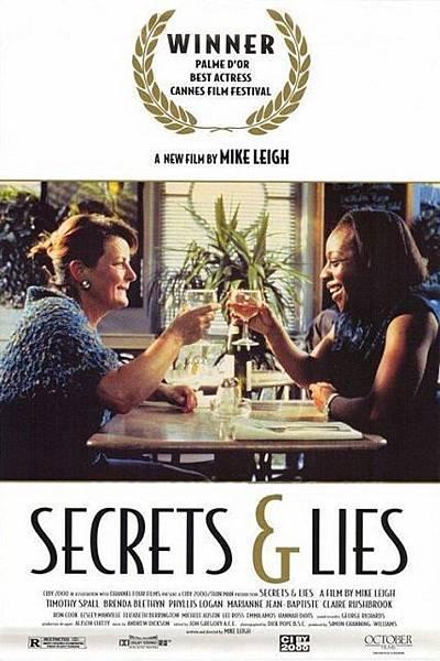 秘密與謊言Secrets & Lies/麥克李Mike Leigh