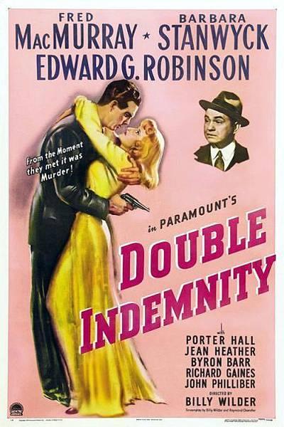 雙重保險Double Indemnity/比利懷德Billy Wilder