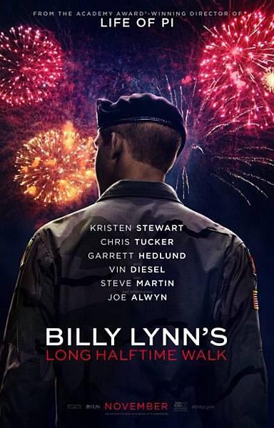 比利‧林恩的中場戰事Billy Lynn's Long Halftime Walk/李安Ang Lee