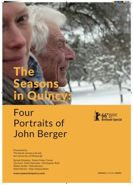 約翰伯格四季肖像 The Seasons in Quincy: Four Portraits of John Berger/Bartek Dziadosz,Colin MacCabe,Christopher Roth,Tilda Swinton