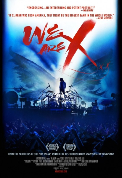 WE ARE X:X JAPAN重生之路 We Are X%2F史帝芬凱亞 Stephen Kijak