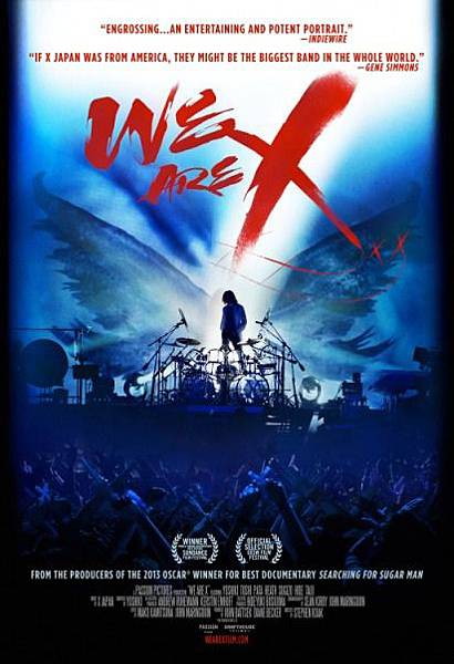 WE ARE X:X JAPAN重生之路 We Are X/史帝芬凱亞 Stephen Kijak