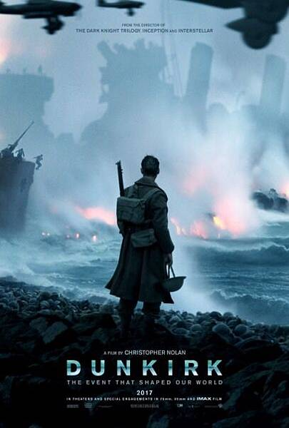 敦克爾克大行動 Dunkirk / 克里斯多福諾蘭 Christopher Nolan