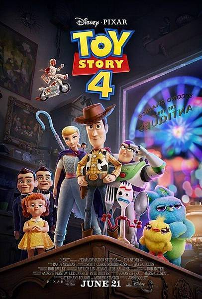 玩具總動員4 Toy Story 4 / Josh Cooley 喬許庫利