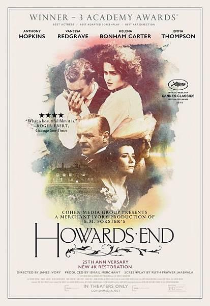 此情可問天 Howards End / 詹姆士艾佛利 James Ivory