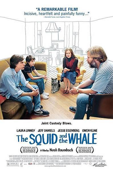 親情難捨 The Squid and the Whale / 諾亞波拜克 Noah Baumbach