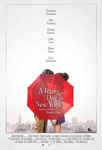 雨天.紐約 A Rainy Day in New York / 伍迪艾倫 Woody Allen