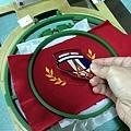 繡花類外套訂製-安聯人壽logo繡花-5