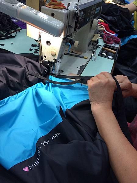 衣的藝術-公司制服-製作過程