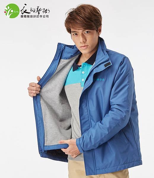 工作服襯衫與外套訂做-中麟營造制服外套2