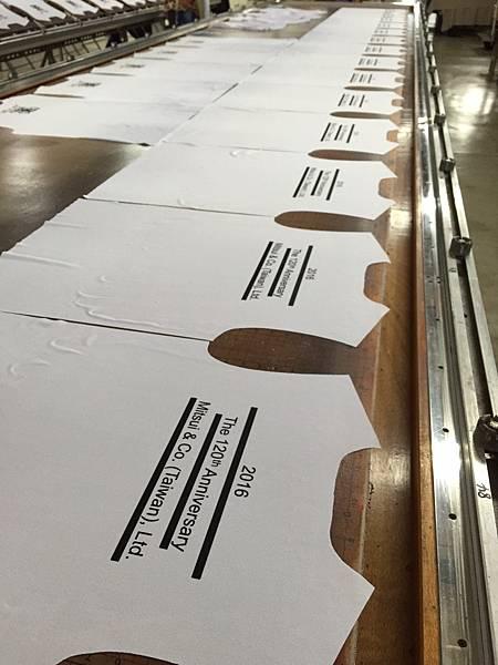 台北團體服訂製-三井物產製作流程2