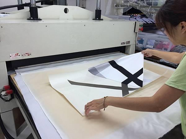 企業團體服-製作流程印刷