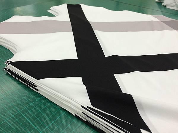 企業團體服-製作流程布料