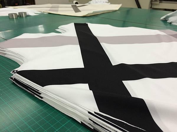 企業團體服-製作流程-布料展示