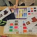 企業團體服-丹丹漢堡布料、色彩選擇